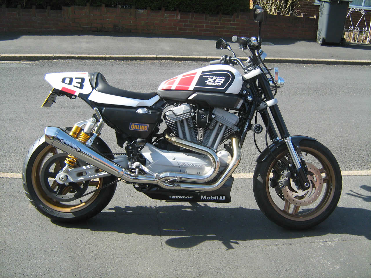 Harley Davidson XR 1200 Sportster – Imagerefinishers